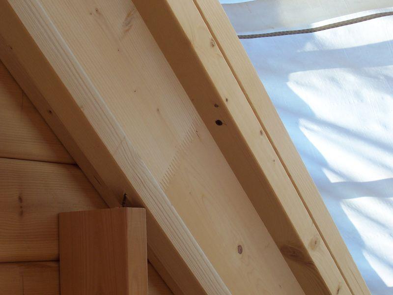 Lambris sous toiture 2