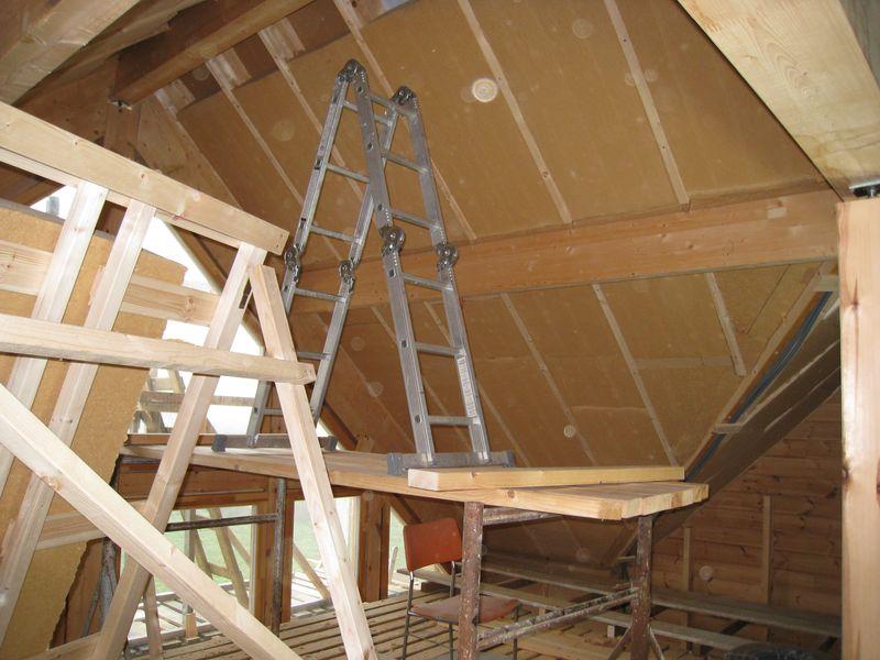Isolation toiture laine de bois