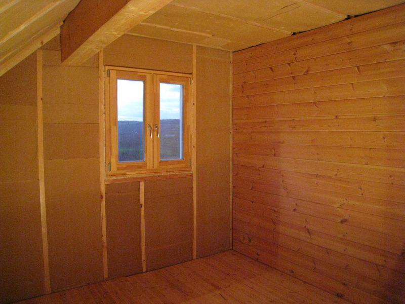 isolation laine de bois chambre parentale