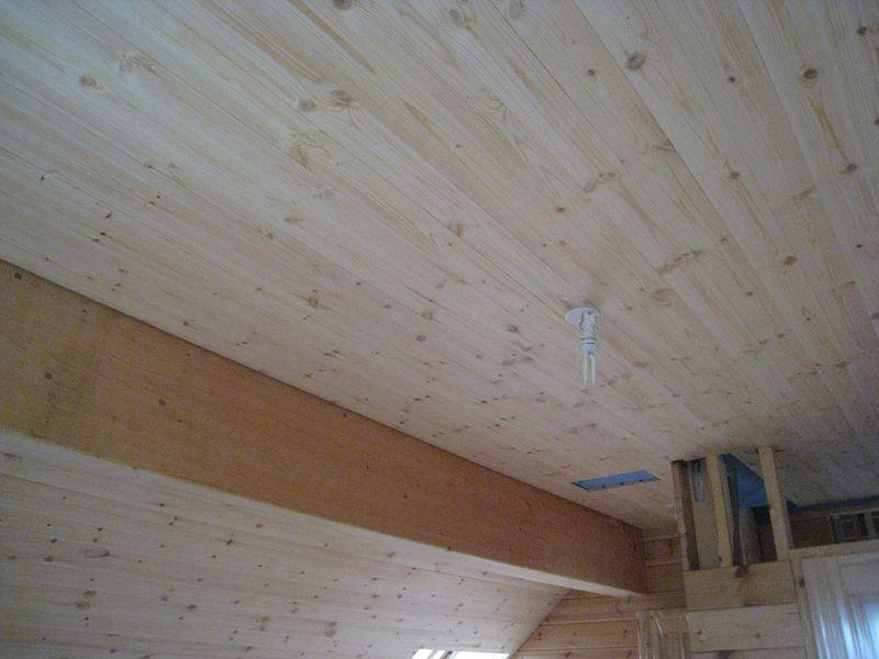 Plafond salle de bains