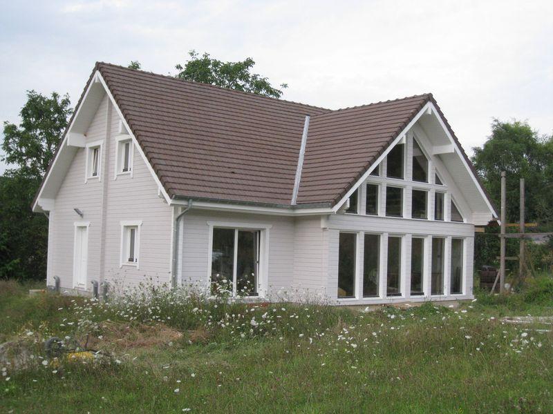 Façade sud achevée fin juillet 2009
